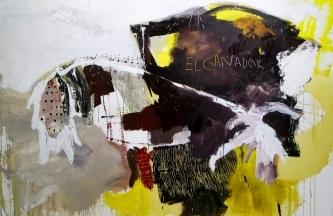 El Ganador Óleo y acrílico sobre lienzo 170x250cm2019