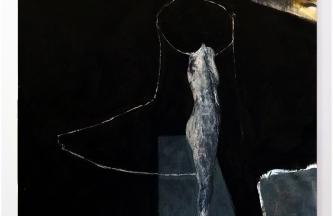 Maniquí de mujer,Óleo sobre lienzo,130x100cm2017